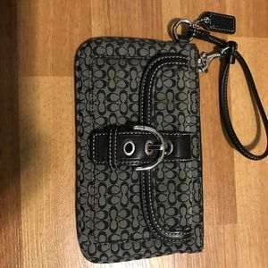 Coach wristlet.  Brand new never used.